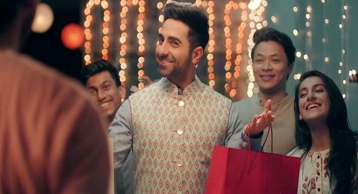 Ayushmann Khurrana Nexus Malls Diwali ad?blur=25