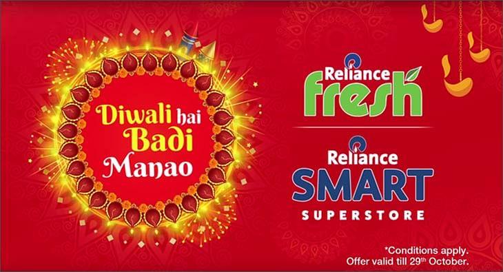 Reliance Fresh & Smart Diwali campaign?blur=25