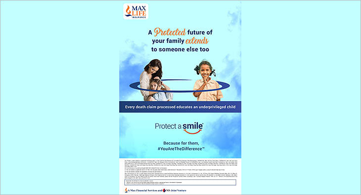 Max Life Insurance 'Protect a Smile' initiative