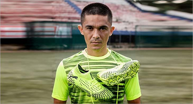 Sunil Chhetri for Puma