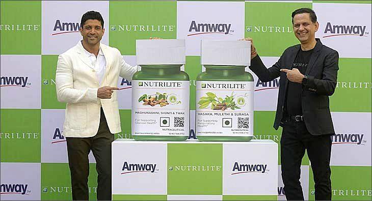 Farhan Akhtar for Amway