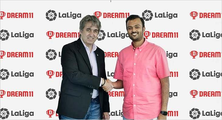 LaLiga and Dream11 partnership?blur=25