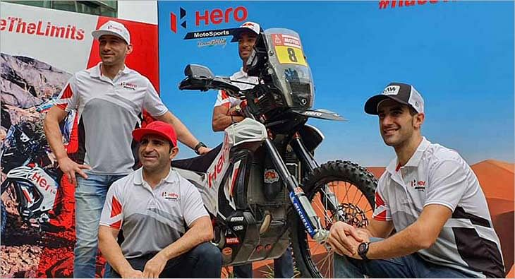 Hero MotoCorp, Dakar Rally?blur=25