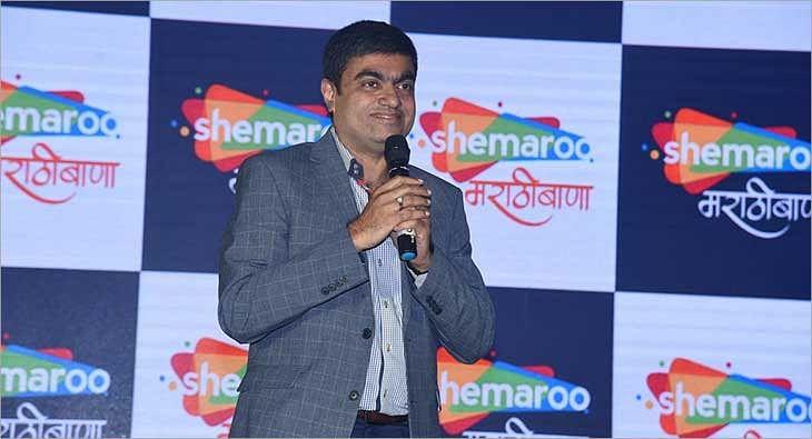 Hiren Gada launches Shemaroo Marathi Bana?blur=25