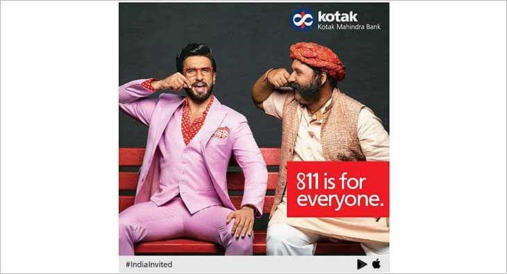 Ranveer Singh for Kotak Mahindra?blur=25