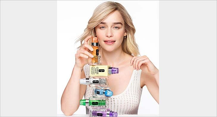 Emilia Clarke for Clinique?blur=25