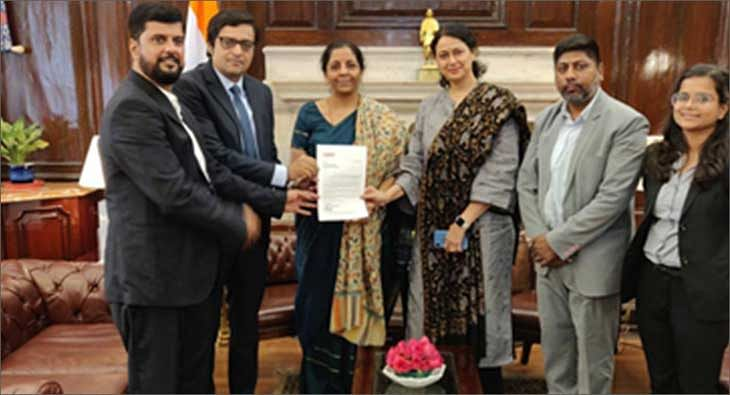 Nirmala Sitharaman with NBF
