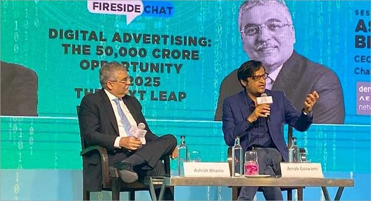 Fireside Chat with Ashish Bhasin and Arnab Goswami?blur=25