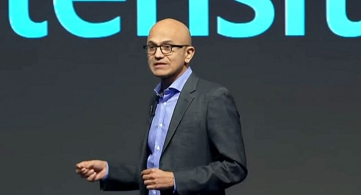 Satya Nadella Microsoft?blur=25