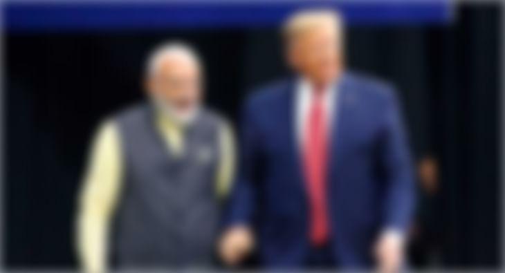 Donald Trump in India