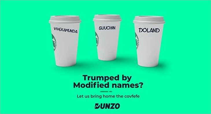 Dunzo Donald Trump Moment Marketing