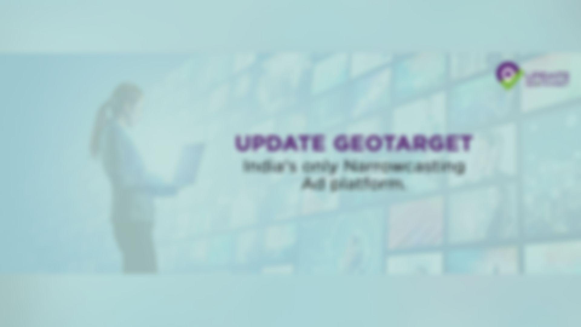 update geotarget