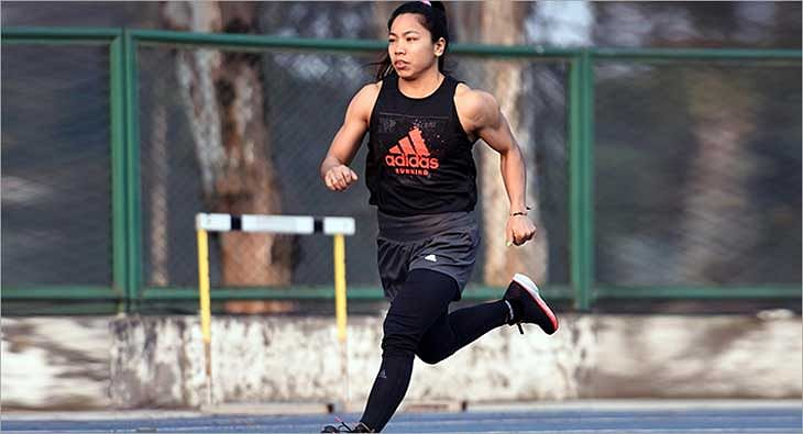 Saikhom Mirabai Chanu for Adidas?blur=25