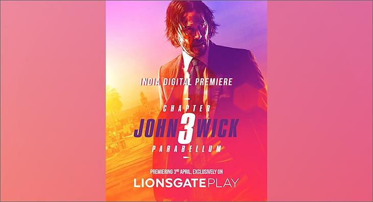 John Wick 3 on Lionsgate Play