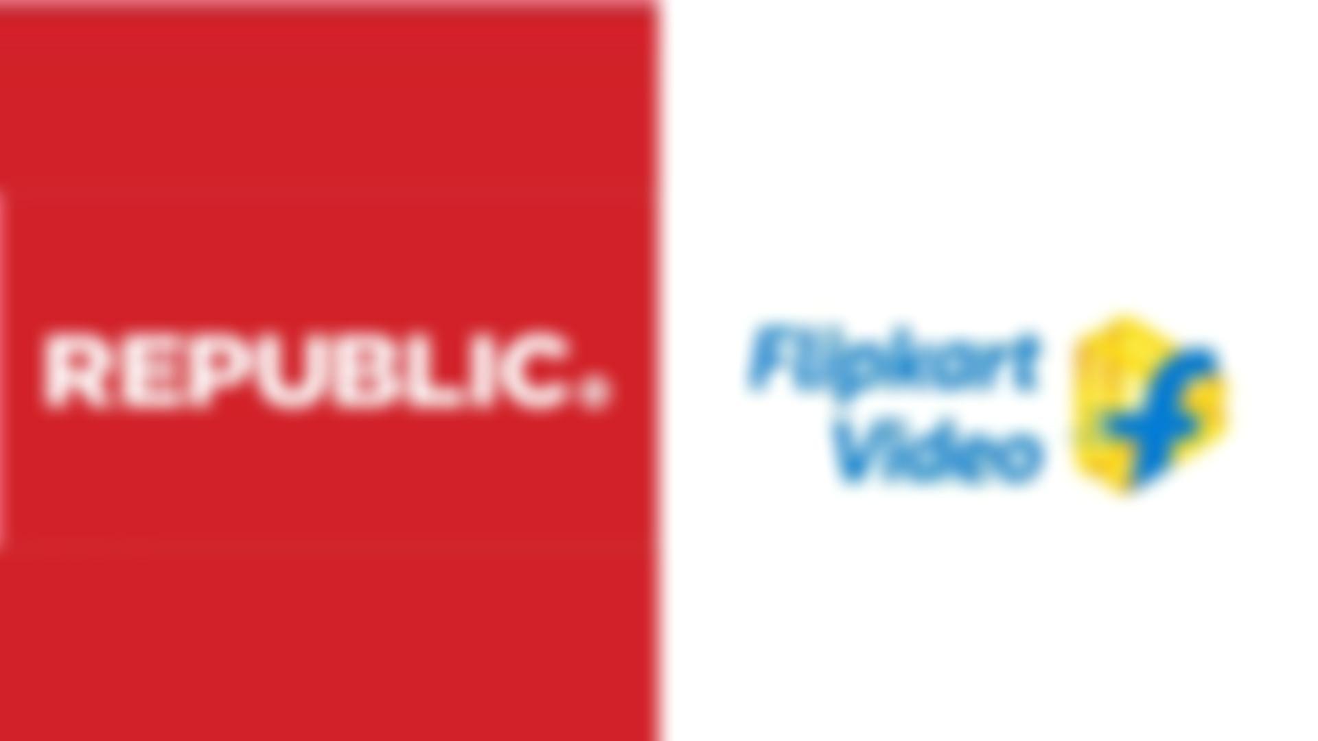 republic flipkart video