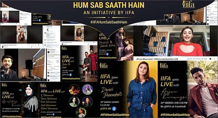 IIFA Hum Sab Saath Hain Campaign?blur=25