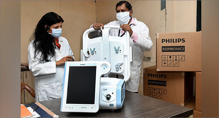 HUL Ventilators Donation