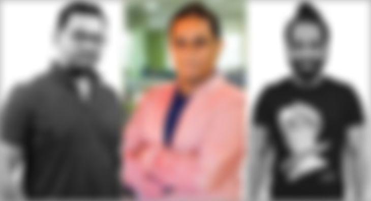 Sajid Dadarkar, Porus Jose and Ashwini Vyas