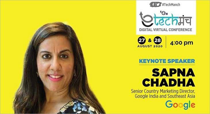 Sapna Chadha,  e-Techmanch 2020?blur=25