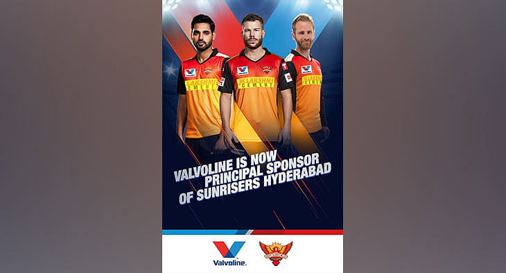 Valvoline roped in as principal sponsor of SunRisers Hyderabad for IPL 2020?blur=25