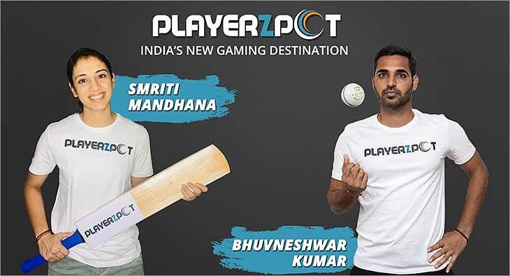 Bhuvneshwar Kumar & Smriti Mandhana?blur=25