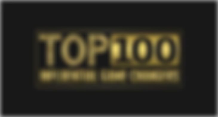 Top 100 influencer game changer list