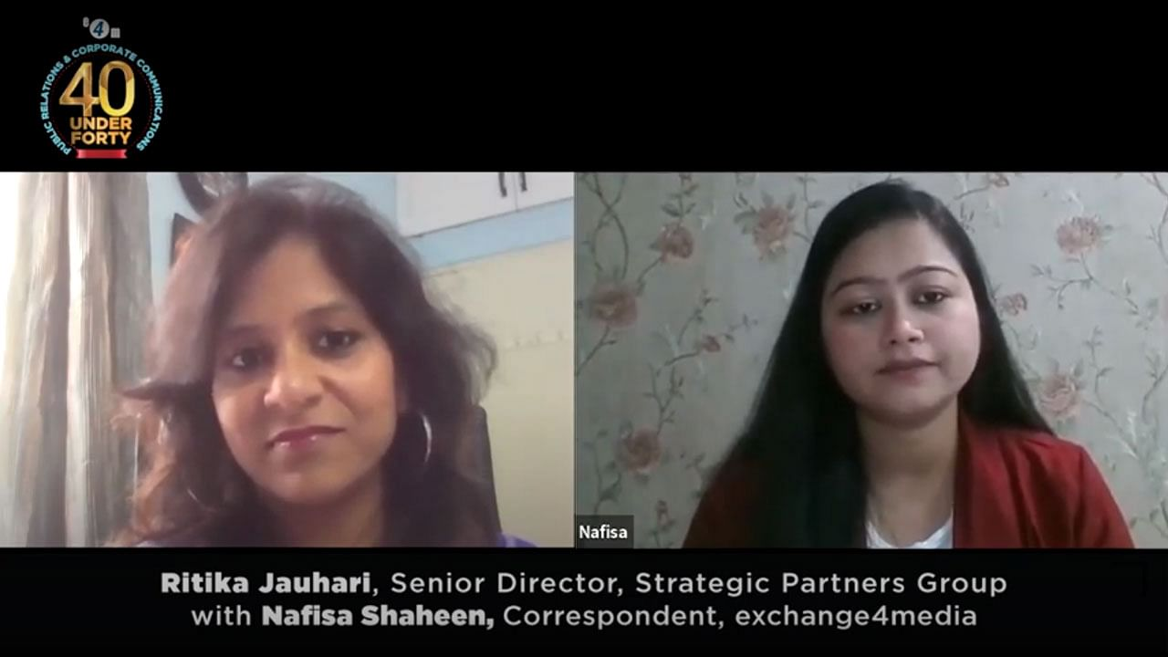 Ritika Jauhari, Sr. Director, SPAG talks about qualities important for a leader?blur=25