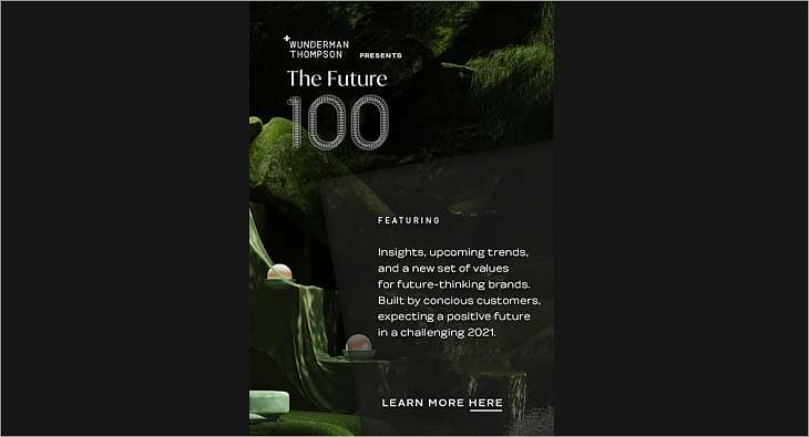 annual Future 100 report by Wunderman Thompson
