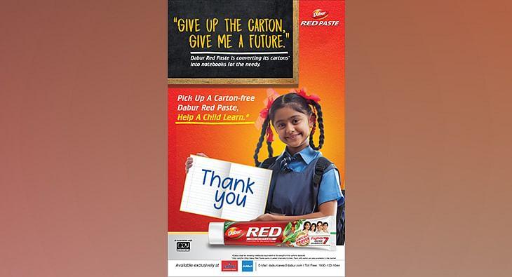Dabur red paste - initiative