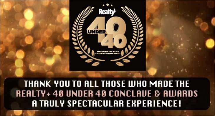 Realty+ 40 Under 40 Conclave & Awards 2021?blur=25