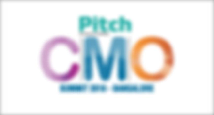 PItch CMO 2018 Bangalore