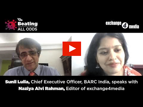 Beating All Odds- Sunil Lulla, CEO BARC India with Naziya Alvi Rahman, Editor, e4m?blur=25