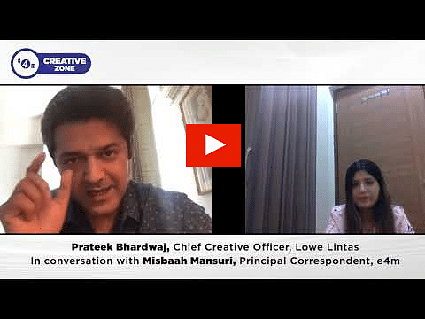 4m Creative Zone with Prateek Bhardwaj, Chief Creative Officer at Lowe Lintas?blur=25