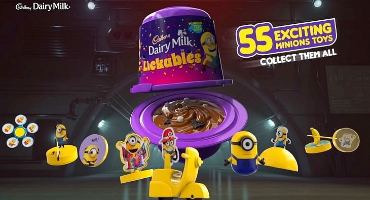 Cadbury Dairy Milk Lickables Minions?blur=25