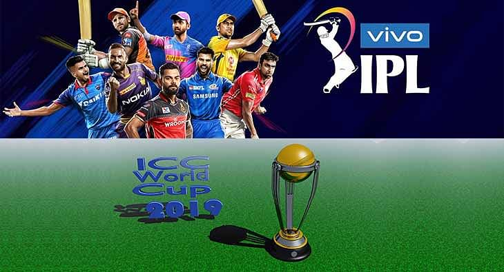 IPL and Cricket world cup