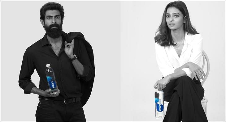 Rana Daggubati and Radhika Apte for smartwater?blur=25