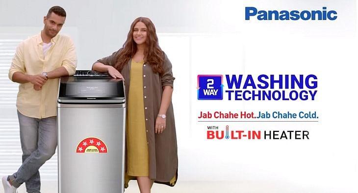 Neha Dhupia and Angad Bedi for Panasonic?blur=25