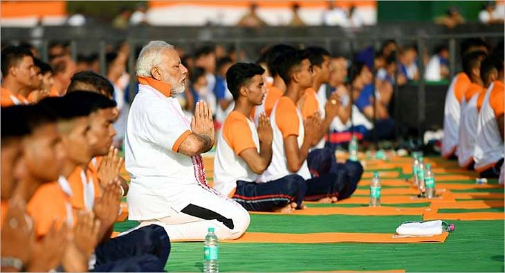 Yoga Day Modi?blur=25