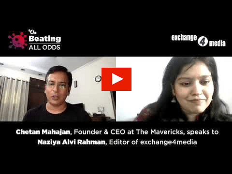 Beating All Odds with Chetan Mahajan, Founder & CEO, The Mavericks?blur=25
