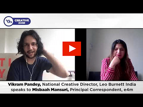 Creative Zone with Vikram Pandey, Leo Burnett?blur=25