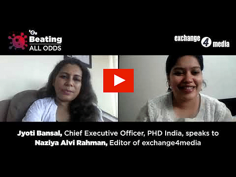 Beating All Odds: Jyoti Bansal, CEO, PHD India, speaks to Naziya Alvi Rahman, Editor, exchange4media?blur=25