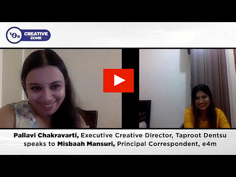 e4m Creative Zone with Pallavi Chakravarty, ECD, Taproot Dentsu?blur=25