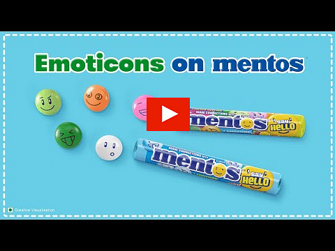 Mentos Digital Campaign