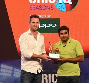 Manish Achuth wins ESPNcricinfo's CricIQ Season 5?blur=25