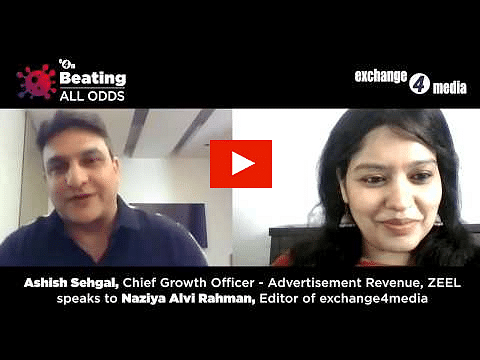 Beating All Odds with Ashish Sehgal, Chief Growth Officer, Advertisement Revenue, ZEEL?blur=25