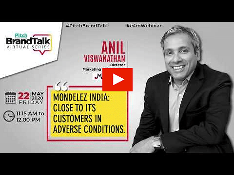 Pitch BrandTalk Virtual Series, Anil Viswanathan, Director – Marketing (Chocolates), Mondelez India?blur=25